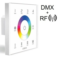 RGB(W) Multi-Zone Wall Mounted LED Controller EX8S