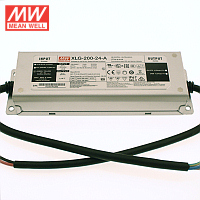 Mean Well 200 Watt LED Driver 24V IP67 (XLG-200-24-A)