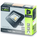 50 Watt Super Slim Integral LED Floodlight
