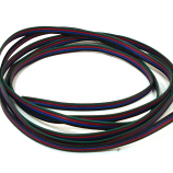 RGB 4 Core LED Strip Cable Wire 12/24V