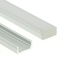 Shallow Aluminium LED Channel