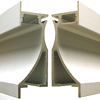 Diffuser Cover For Wall Recessed Profile - 2 Metres